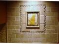 "8"" X 10"" decorative pineapple tile."