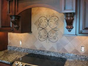Handpainted commercial tiles